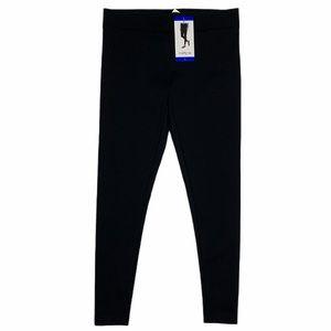 Matty M Black Pull On Legging Stretch Pants Large